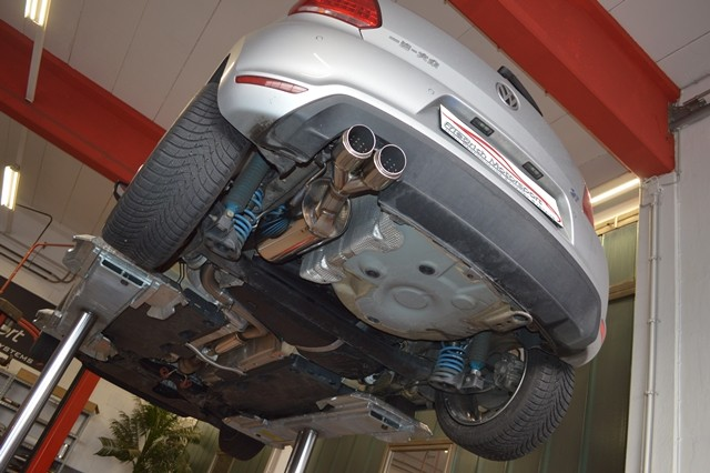 70mm Anlage VW Polo 6R Facelift / 6C GTI