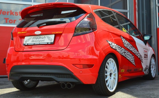 Sportendschalldämpfer Ford Fiesta JA8 Facelift